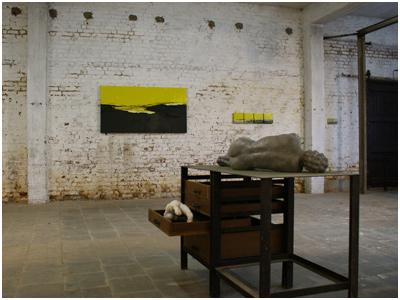 Kunstenaars bij Buren